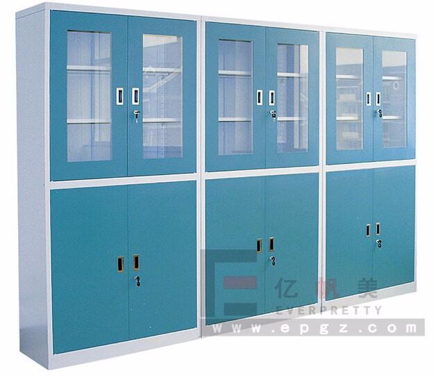 Cold Rolling Steel Laboratory Cabinet/glass Door Lab Storage ...