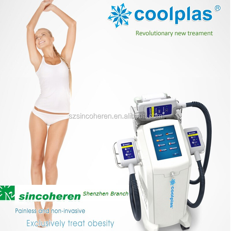 Professional body fat freezing machine for double chin treatment