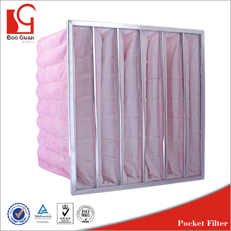 fd07932a1e4 F6 Cloth Multi Pockets Bag Filter 24x24 - Buy Washable Bag Filters ...