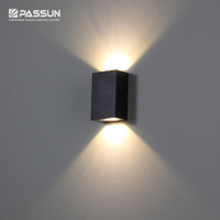 Wall mounted outdoor wall light led up and down 2W Exterior wall lamp waterproof IP65