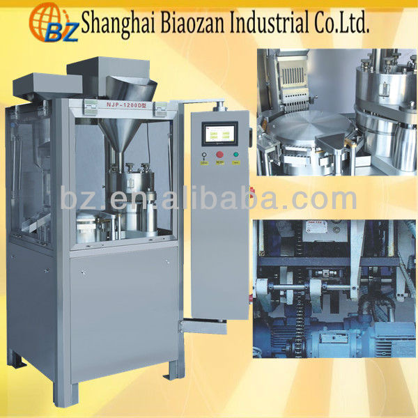 NJP-800/1000/1200 fully automatic capsule filling machine 00# -4#/capsule packing machine