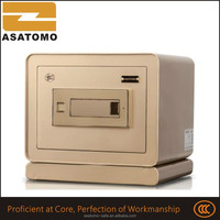 Home &office appliance different sizes compact hard steel bill concealed storage biometric safe high grade security safe