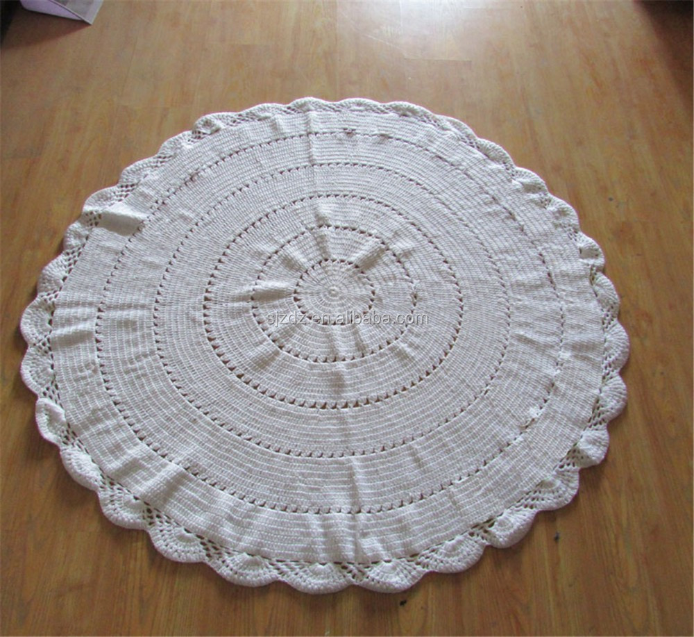 Großhandel China Mora Baumwolle Decke Häkeln Babydecke Muster 100 ...