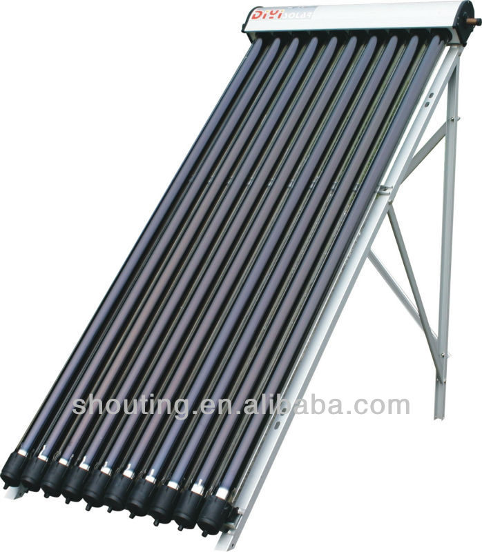 2012 heat pipe solar collector