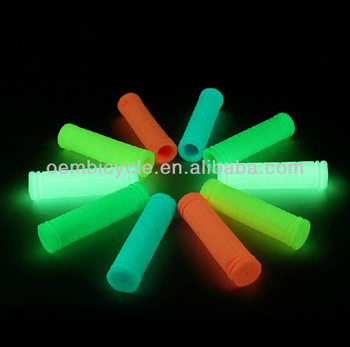 Colorful luminous 125mm fixie gear bike handle grips