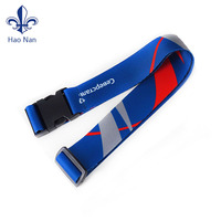 2018 supply sale custom polyester luggage belt for security travel