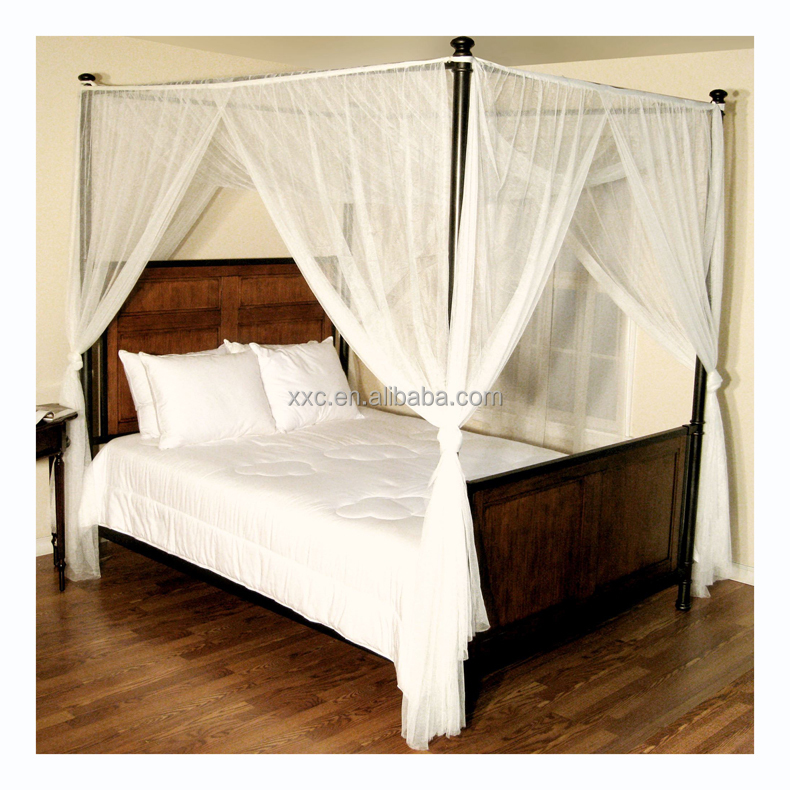 New Color Collection Canopy Bed Curtains