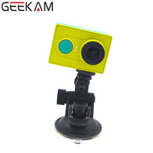 GEEKAM Go Pro Accessories Universal Mini Car Suction Cup Mount Holder Sucker for Driving Recorder sj4000 Xiao mi yi Action Cam