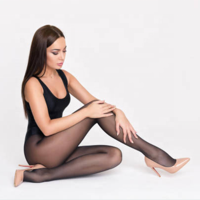 Sexy shiny tights Skin Tones Colors Nylon Pantyhose Stockings 15D Latin Skin Colours Extra Large Women Pantyhose OEM Best Seller