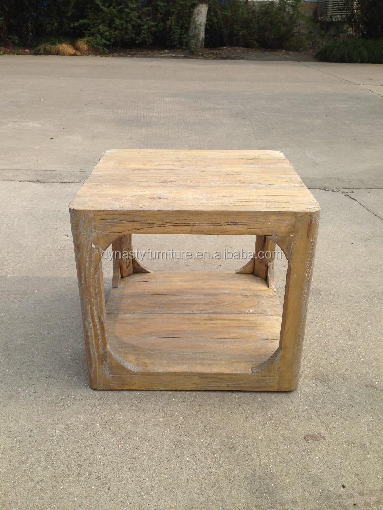 muebles de estilo francs mesa auxiliar de madera maciza