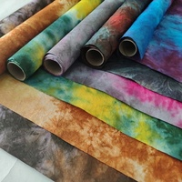 60cm x 2m multi color mixed eco friendly handmade painted water proof flower wrapping crepe mulberry paper