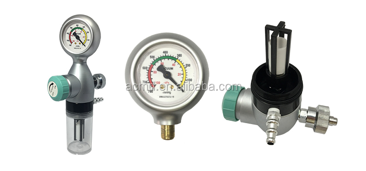 Hospital Suction Regulator German/French Standard With Safety Trap