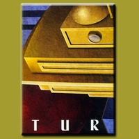 Pure hand-painted oil painting Art Deco Posters