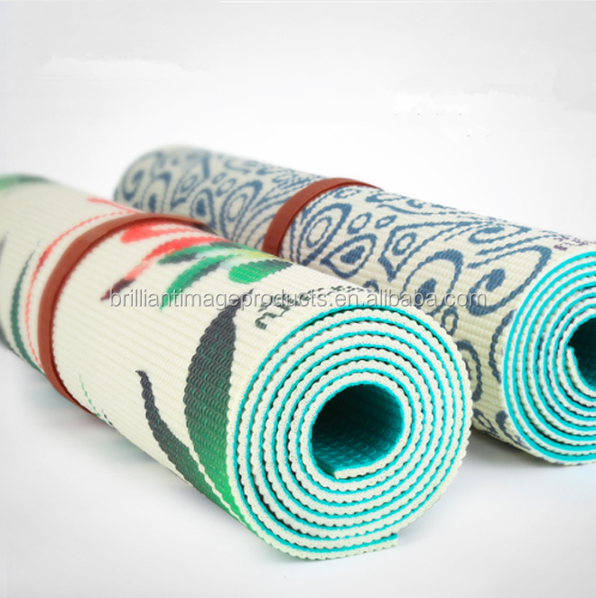 Workout Fitness Pilate Exercise GYM NBR Natural Rubber Yoga Mat