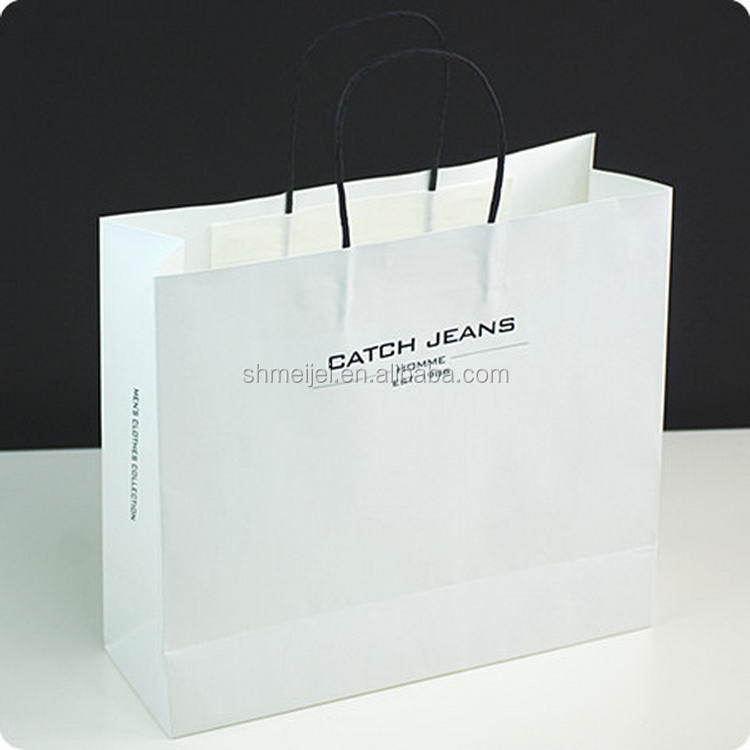 Best price trade assurance retail large shopping paper bag