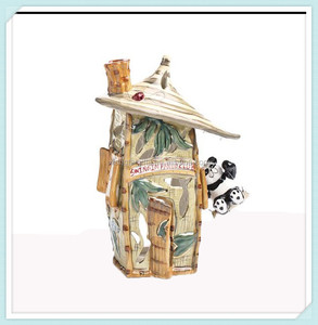 Garden fairy ceramic miniature houses