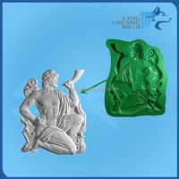 Used to Make Plaster Wall Panel Fiberglass Eco-friendly Molds
