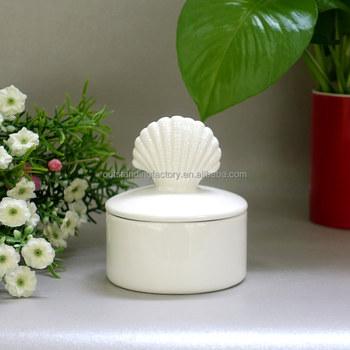 Antique Modern Ceramic Vase And Decoration Seashell Lid Buy