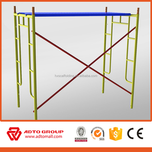 professional painted Frame Scaffolding building materials price /used doka formwork