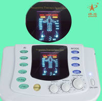 2015 deep physiotherapy distributors wanted russian wave electric muscle stimulator