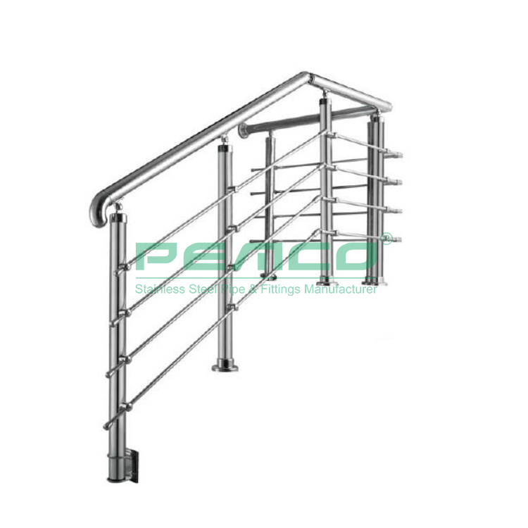 High Quality Stainless Steel Balustrade Regulations Stair