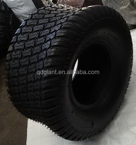 Qingdao manufacturer lawn mower tyre/wheel with turf patten 9.50-8