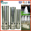 1'' stainless steel 304 and copper two material can choice bubble water outdoor water fountain nozzles