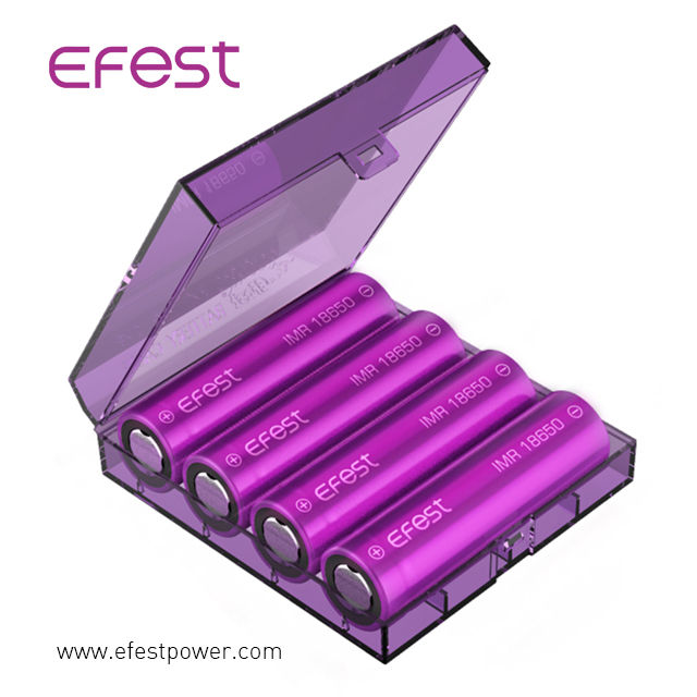 Eco-Friendly Double Plastic 20700/21700 battery Protected cases 2*20700/21700 case