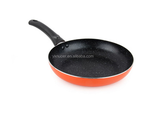 24cm nonstick coating aluminum fry pan with marble coating