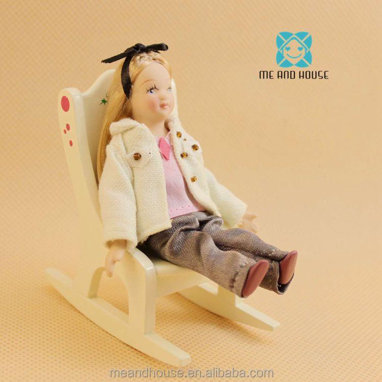 Puppenstuben & -häuser 1/12 scale Dollhouse miniature modern working TV