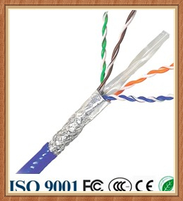 China proveedor alibaba indoor ftp cat6 cable lan con certificación ce rohs