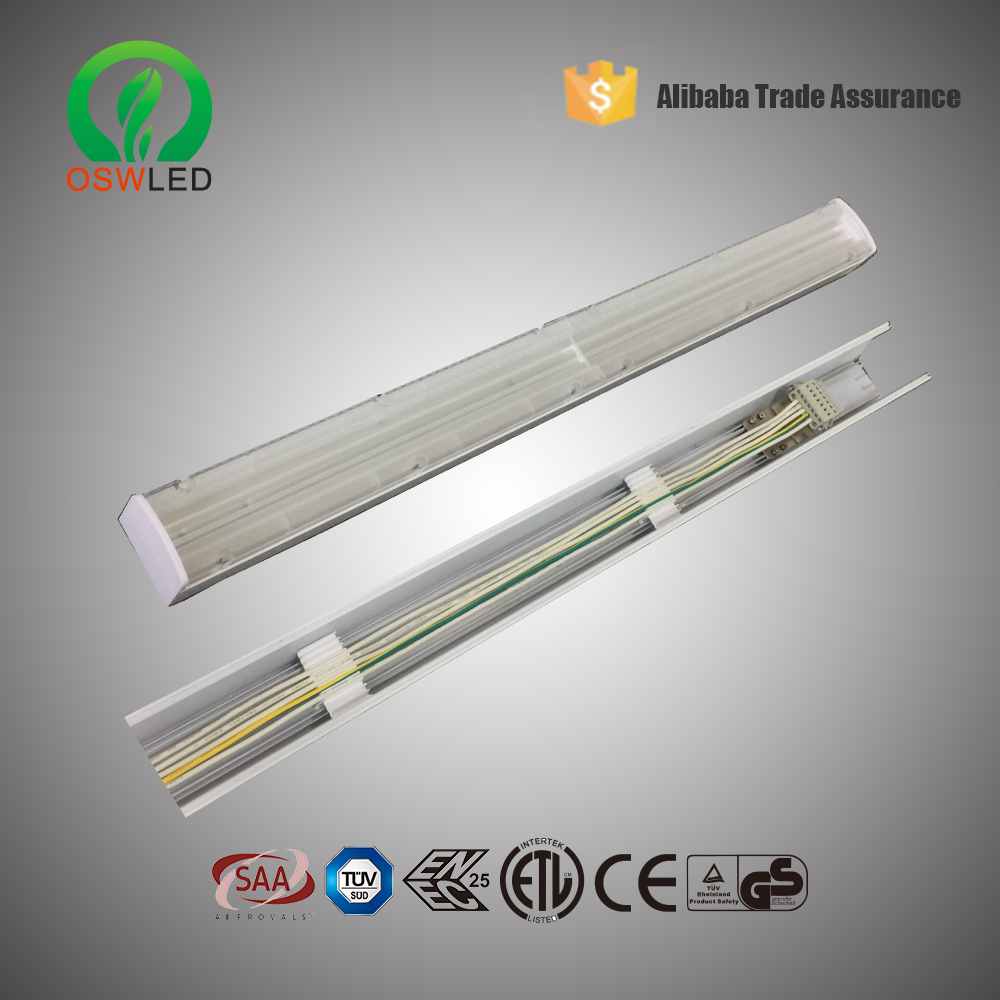 High quality brightness 48W Pendant Trunking Syetem LED Linear Light System With supermarket ,led linear light