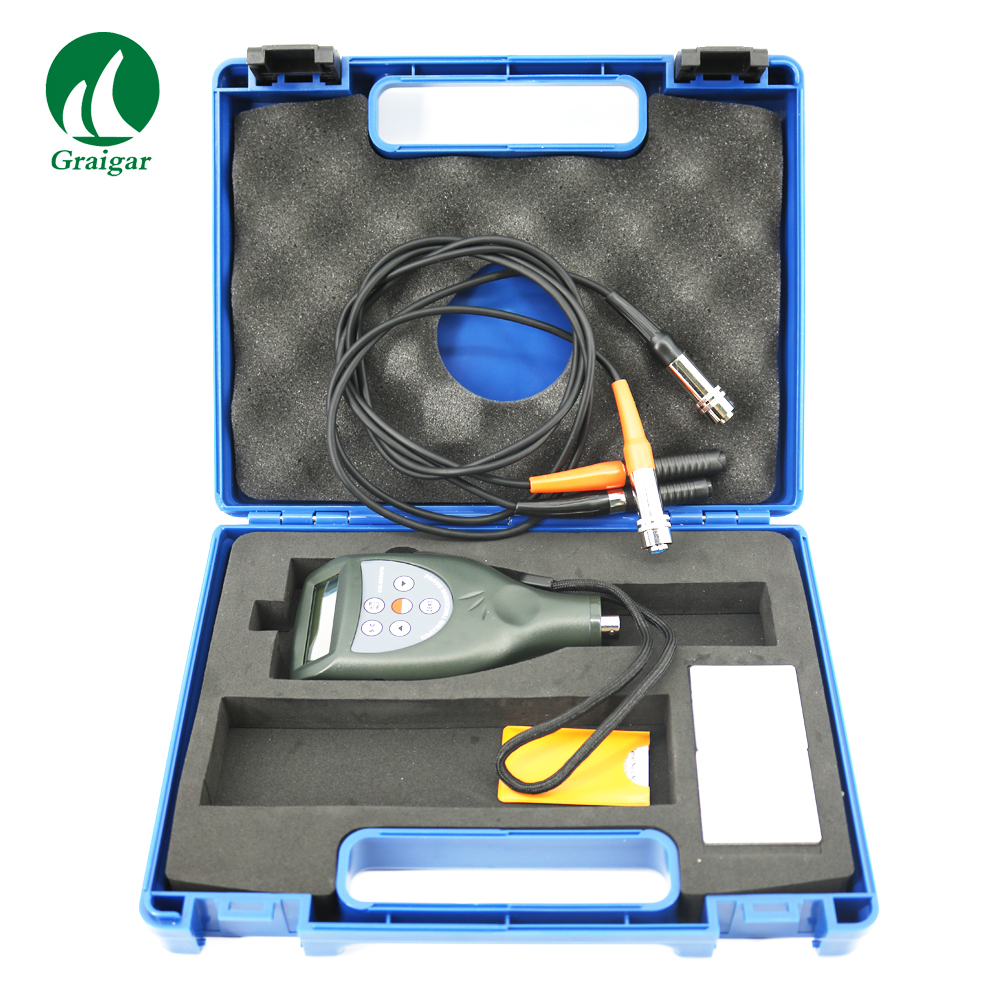CM-8826FN Digital Paint Coating Thickness Gauge Meter F and NF Probes Measuring Range 0~1250um
