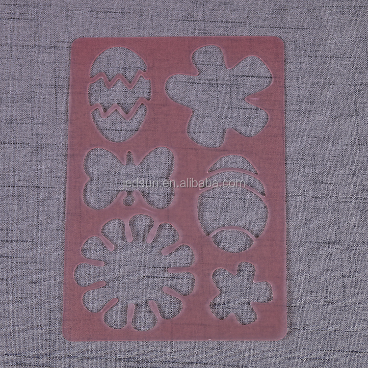 PP Corrugated sheet reusable nail stencil plastic stencil