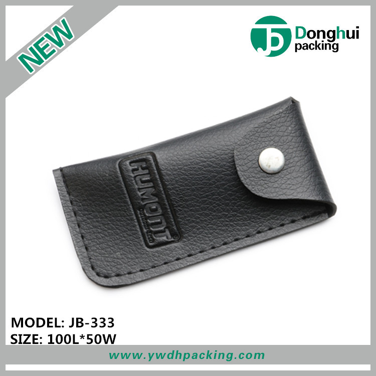 Free sample knife holder in bulk sale PU leather tool buckle bags OEM manufacture knife bag