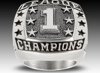 Stainless steel high school champions ring for sport games