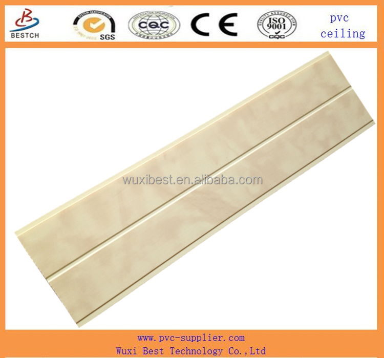 cheap pvc tongue and groove ceiling panel tiles