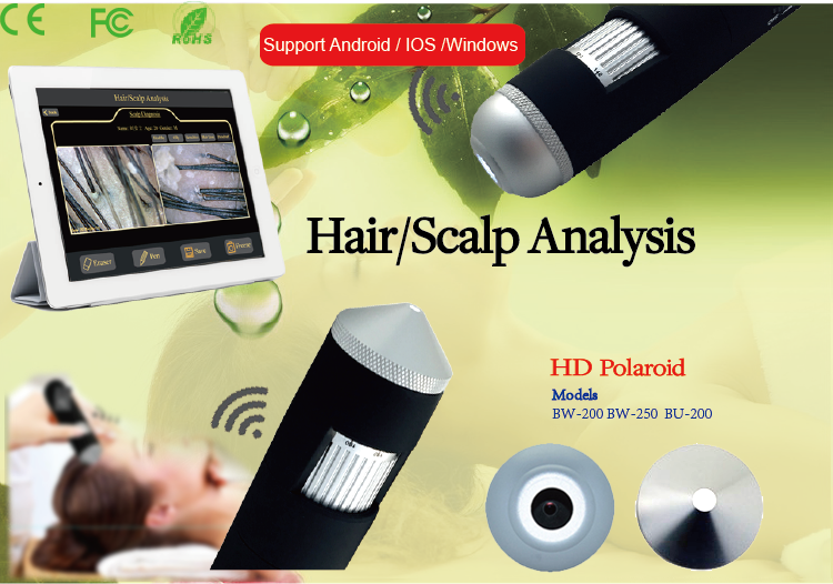 Scalp hair root detector each big beauty salon best-selling product, but even the android mobile phone, apple mobile phones