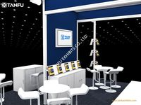 20x20 Or 6x6 Aluminum Exhibition Booth For Trade Show With Rental ...