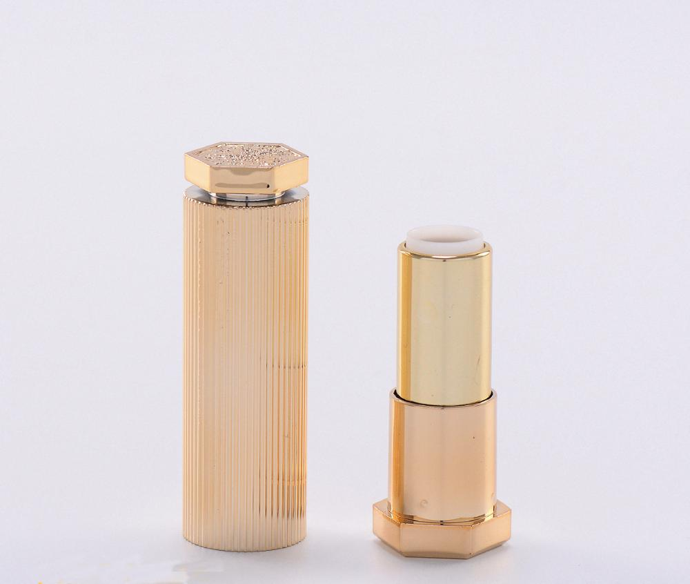 Custom luxury high quality lipstick container for make up beauty