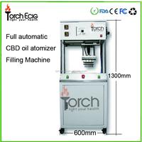 2016 most popular glass vape cartridge cbd oil filling machine
