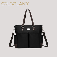 Colorland Daddy Style Tote Classic Mommy Bag with Changing Mat