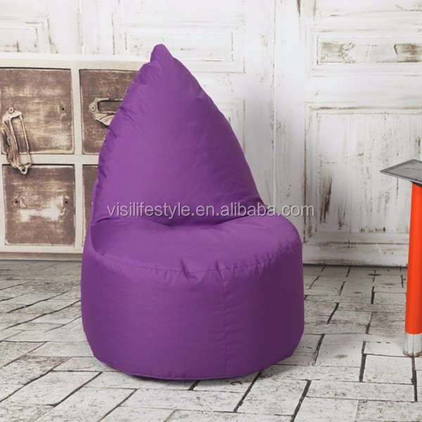 Super Living Room Furniture Purple Pear Shape Beanbag Chair Recliner Beanbags Beanbag Cover View Beanbag Cover Visi Product Details From Yiwu Visi Machost Co Dining Chair Design Ideas Machostcouk