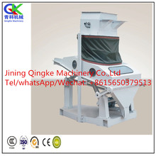 wheat and rice impurity cleaning/ cleaner machine with compact structure