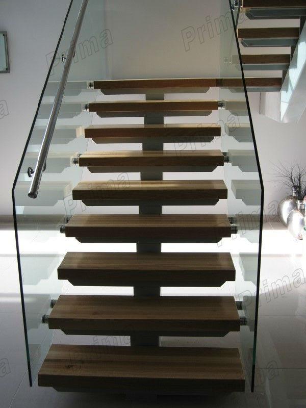 Modern steel wood staircase steel beam stairs buy steel - Escaleras de interior modernas ...