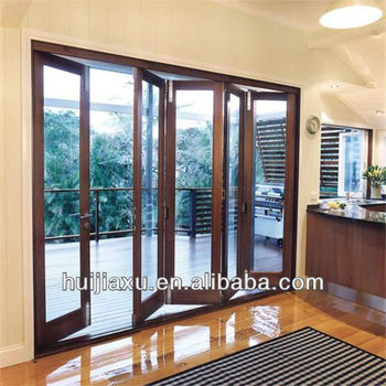 Exterior Bi Fold Glass Doors Exterior Folding Patio Doors Waterproof Folding Door Buy