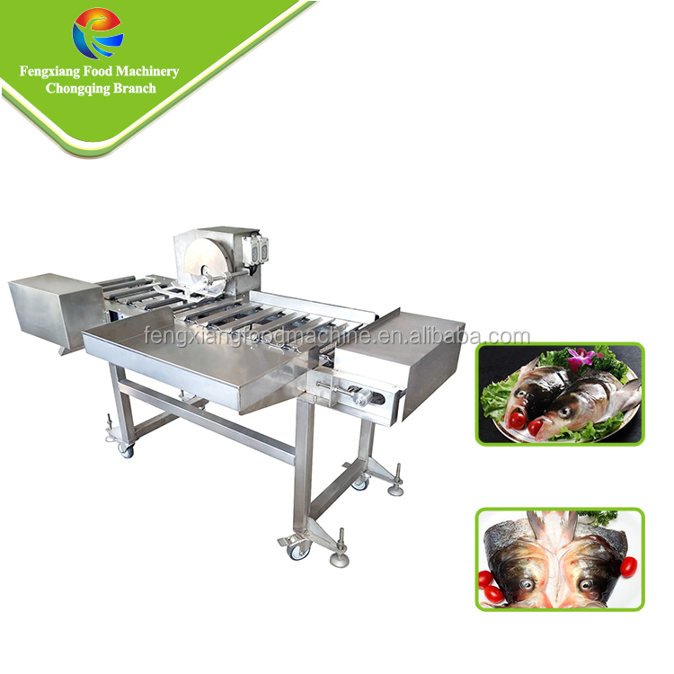 Hot Sale Electric Commercial Fish Head Cutting Machine