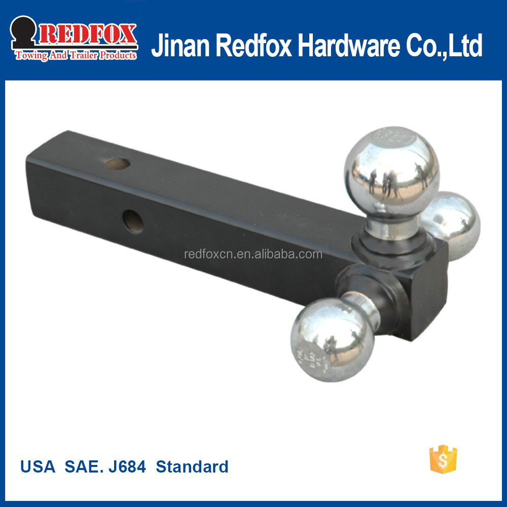 tri-ball mount With USA SAE J684 / V5 Standard