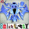 2002 2003 YZFR1 YZF-R1 2003 2002 pure blue Custom Fairing Fit For yamaha YZF R1 2002 2003