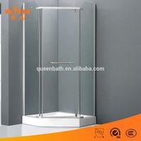 Diamond shape freestanding 90 *90 diy sauna shower room